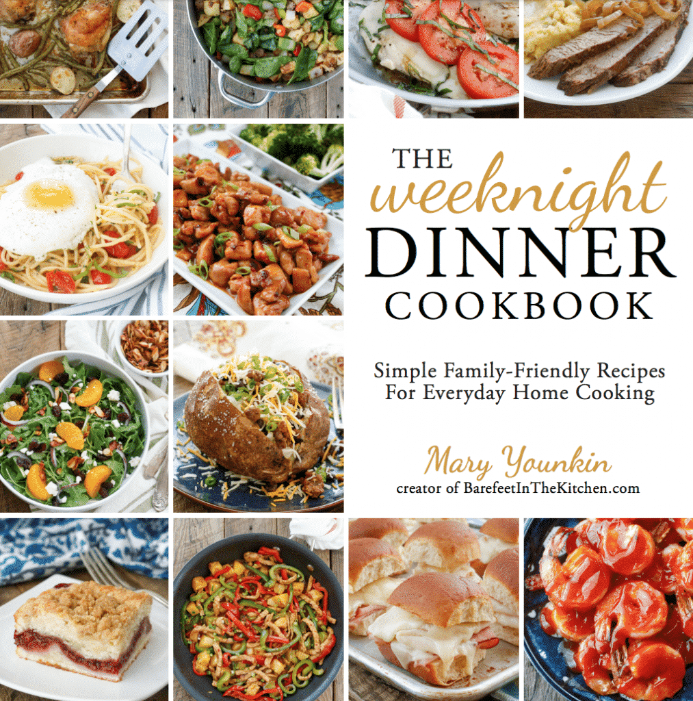The Weeknight Dinner Cookbook - quick and easy meals for when you're on the road!