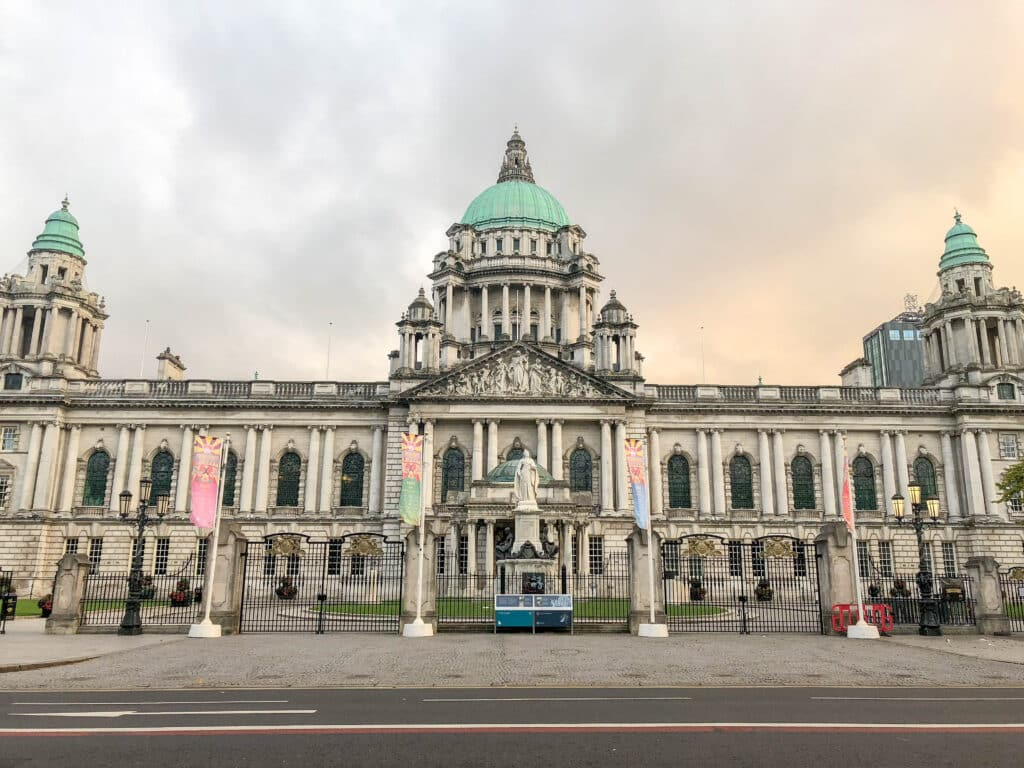 Belfast City Hall is a work of art. Read more at barefeetinthekitchen.com