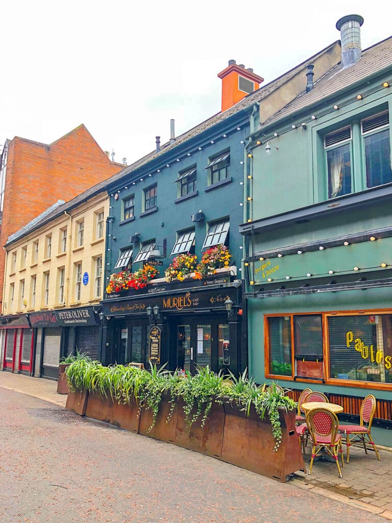 Muriel's in Belfast, Ireland - see more at barefeetinthekitchen.com