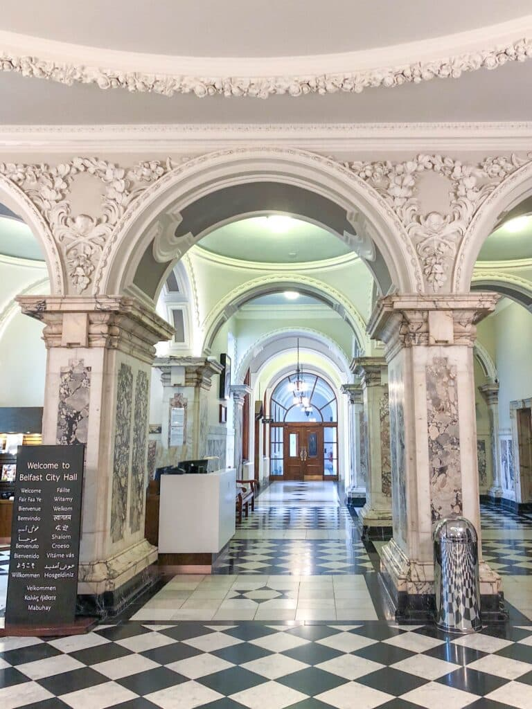 Belfast City Hall needs to be on your list to visit when you're in the city. Read more at barefeetinthekitchen.com