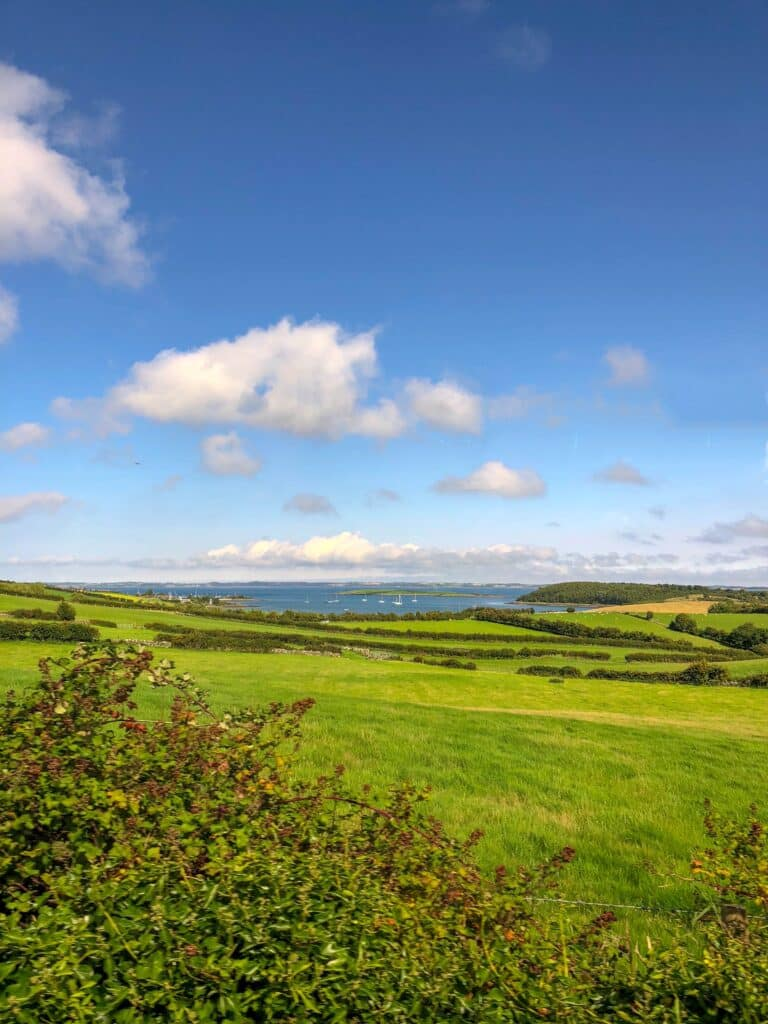 County Down in Northern Ireland is as picturesque as can be! read more at barefeetinthekitchen.com