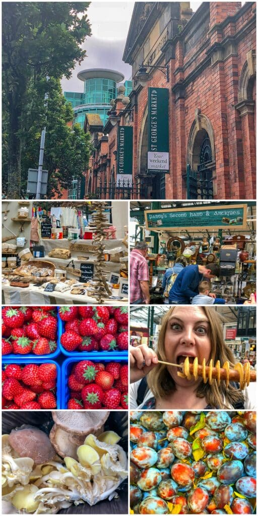 Belfast Market is a must visit when in the city. Read more at barefeetinthekitchen.com