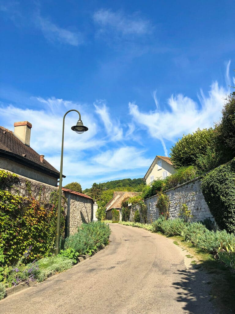 The town of Giverny, France is charming! - see more at barefeetinthekitchen.com