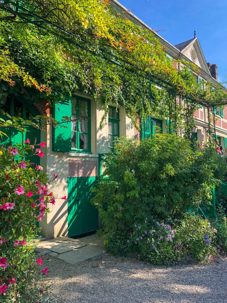 Claude Monet's Home in Giverny, France - see more at barefeetinthekitchen.com