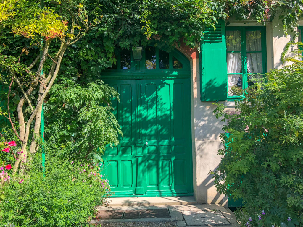 Monet's Home in Giverny, France - see more at barefeetinthekitchen.com