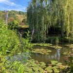 Monet's Water Lily Garden in Giverny, France - see more at barefeetinthekitchen.com