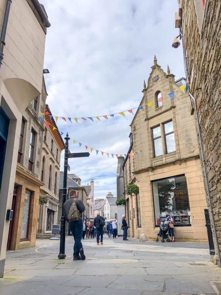 Kirkwall in the Orkney Islands - read more at barefeetinthekitchen.com