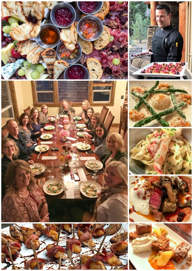 Chef Dinner at Caldera Springs in Sunriver, OR