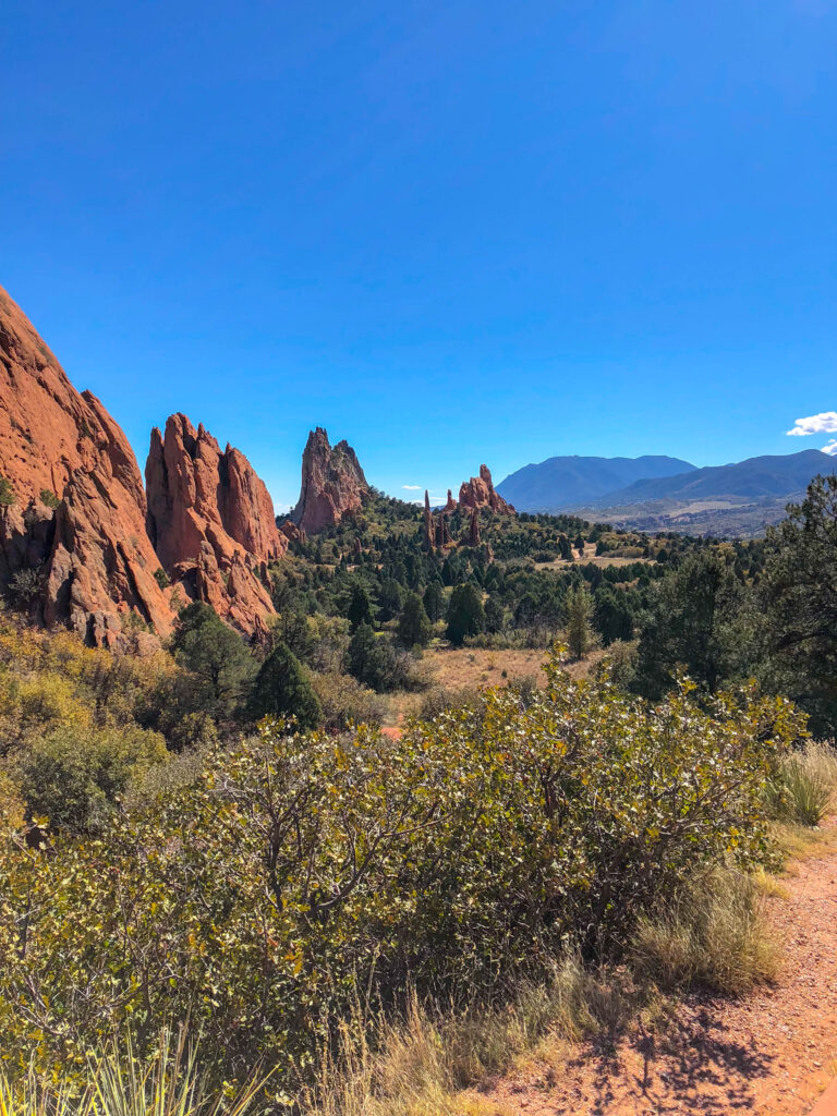 Garden of the Gods in Colorado Springs, CO - read more at barefeetinthekitchen.com