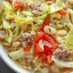 This Italian Cabbage and Sausage Soup is a favorite with everyone who tries it!