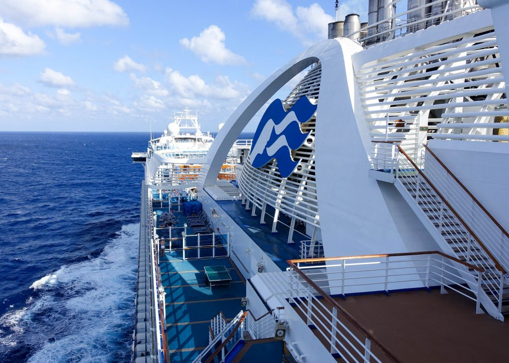 Traveling on the Crown Princess