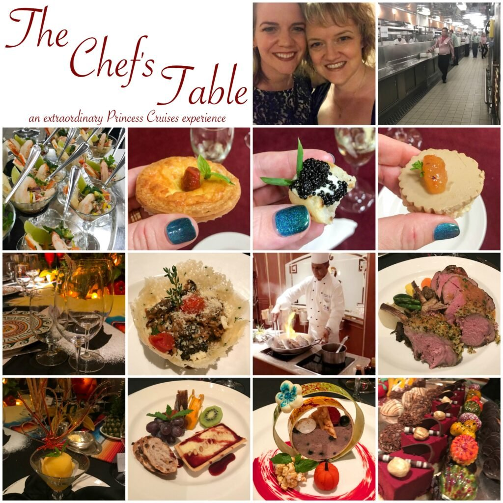 The Chef's Table - an extraordinary Princess Cruises experience