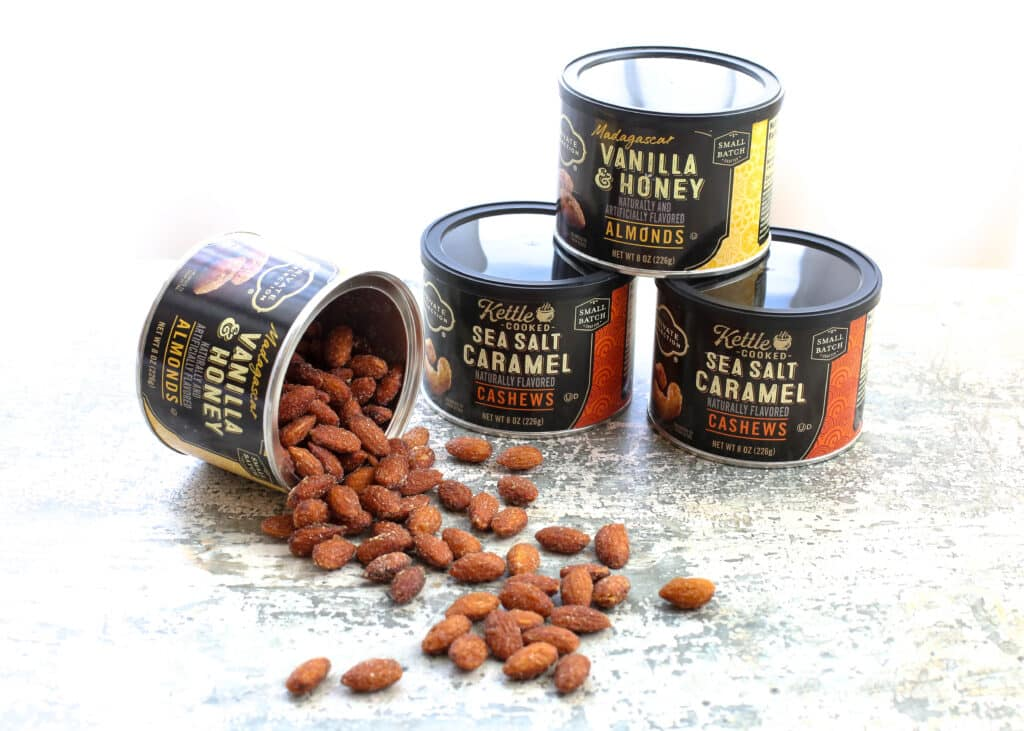 Fancy nuts make a terrific hostess gift all year long!