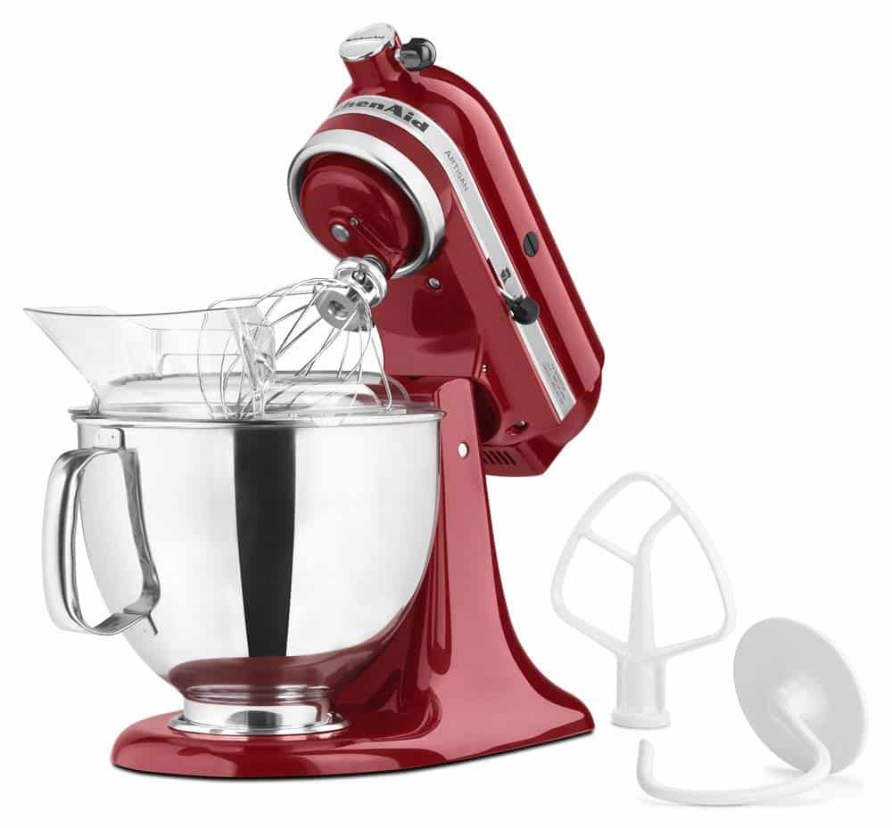 Enter to win this Empire Red KitchenAid Stand Mixer at barefeetinthekitchen.com