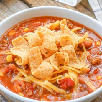 The Best Chili You'll Ever Make - in under 20 minutes!