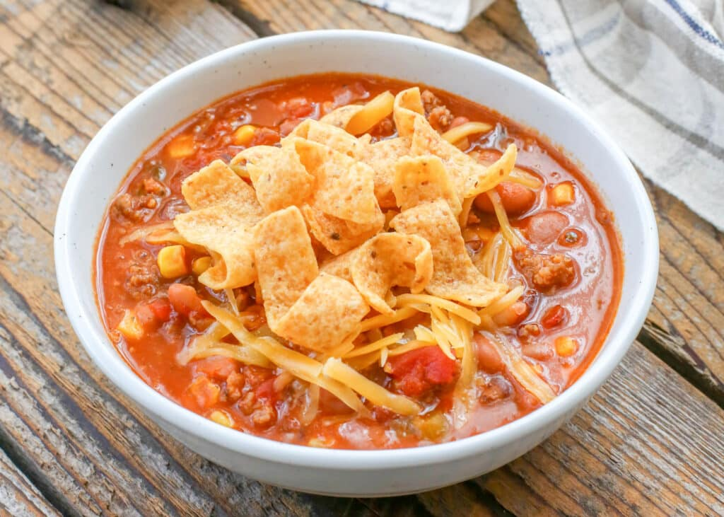 The easiest and tastiest chili you'll ever make!