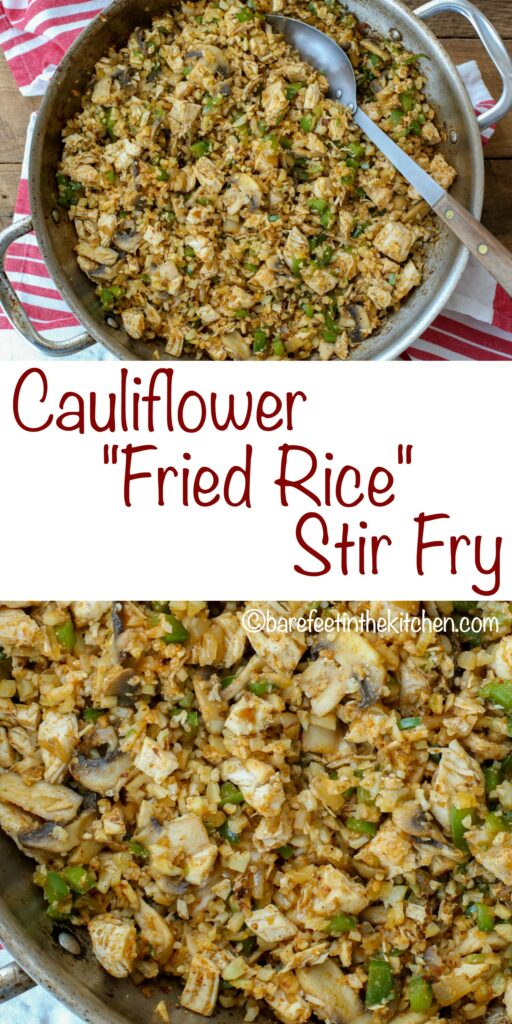 Cauliflower Fried Rice Stir Fry