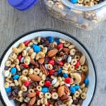 "G.O.R.P. ""good old raisins and peanuts"" - the original trail mix! get the recipe at barefeetinthekitchen.com"