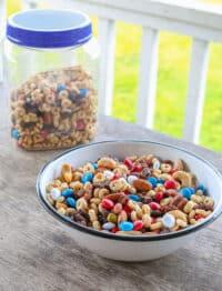 "GORP ""good old raisins and peanuts"" - the original trail mix! get the recipe at barefeetinthekitchen.com"