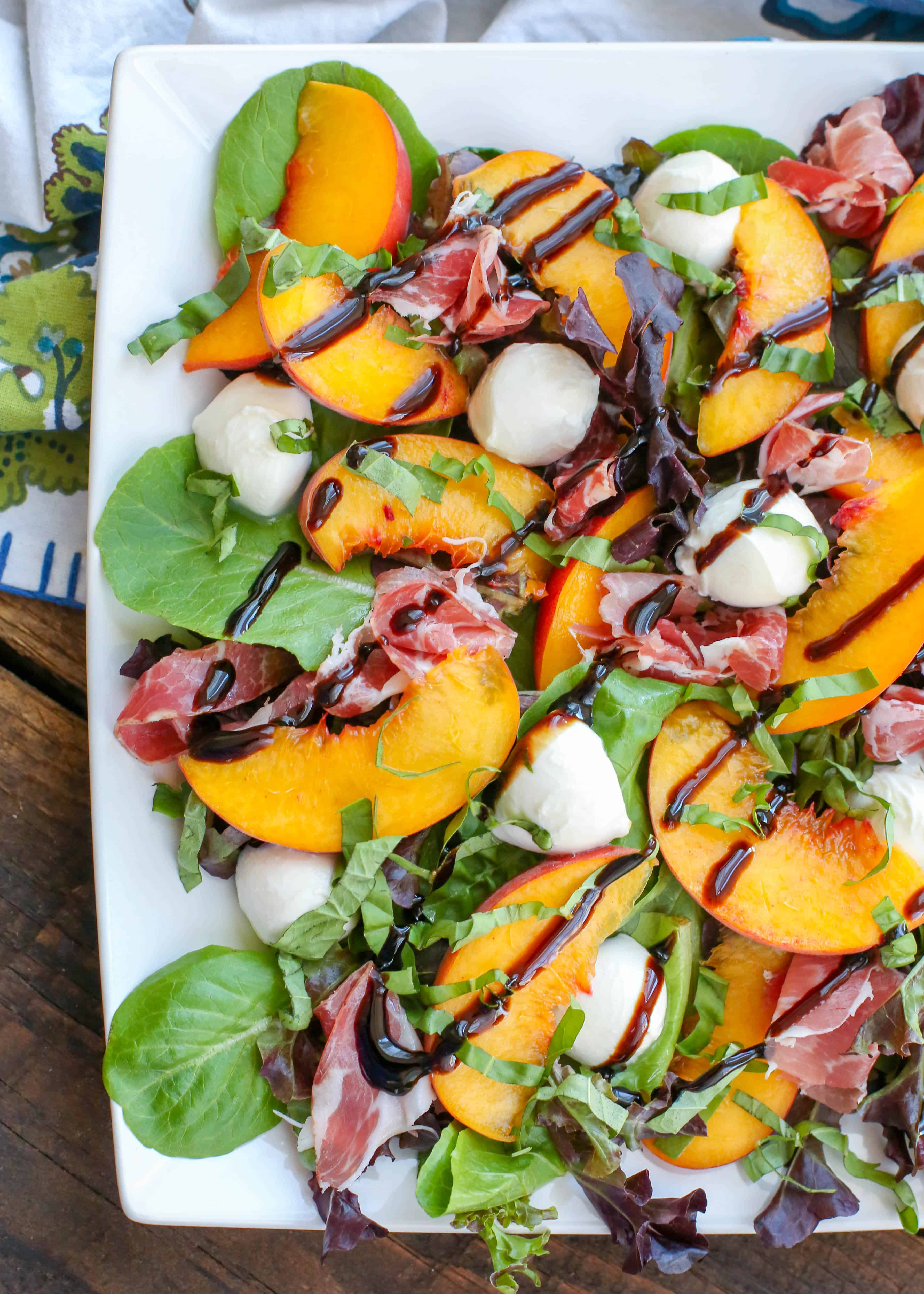 Peach Caprese Salad forecast