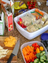Cheese Plate Snacking & A Cheesy Giveaway! get the details at barefeetinthekitchen.com