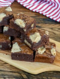 Peanut Butter Fudge Brownies