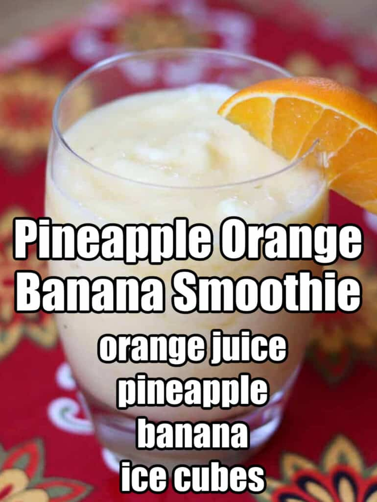 Pineapple Smoothie FB