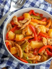 Sweet 'n Sour Chicken Stir Fry