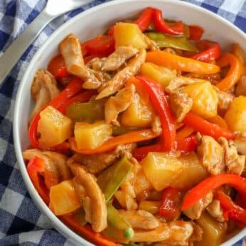 Sweet 'n Sour Chicken Stir Fry