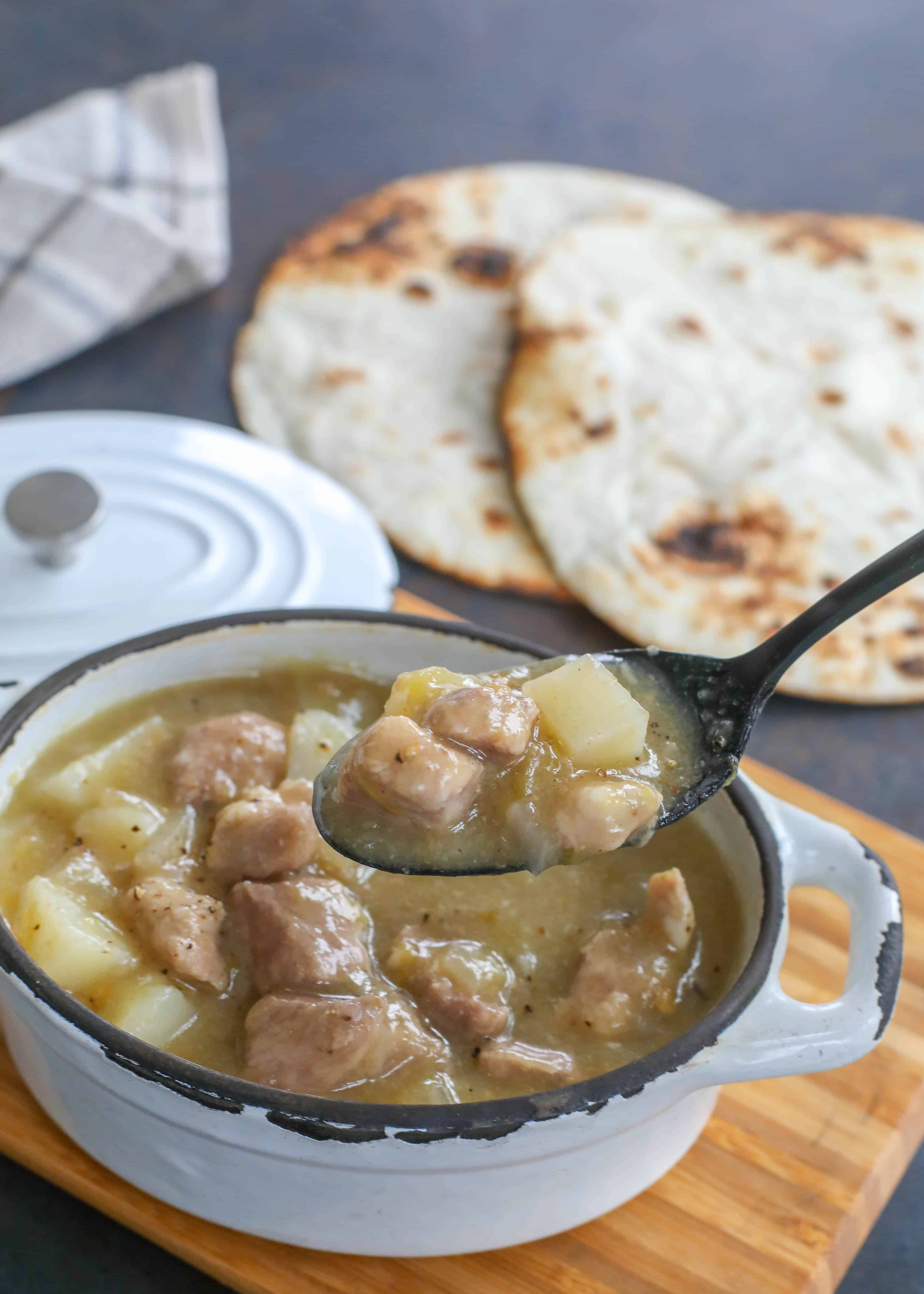The Best Green Chile Stew