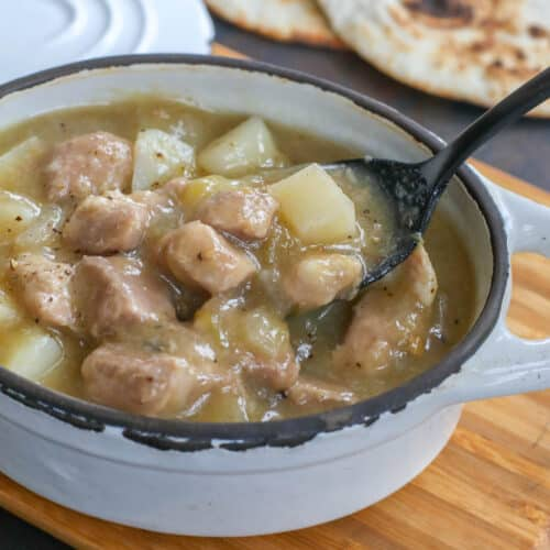 Classic New Mexican Green Chile Stew