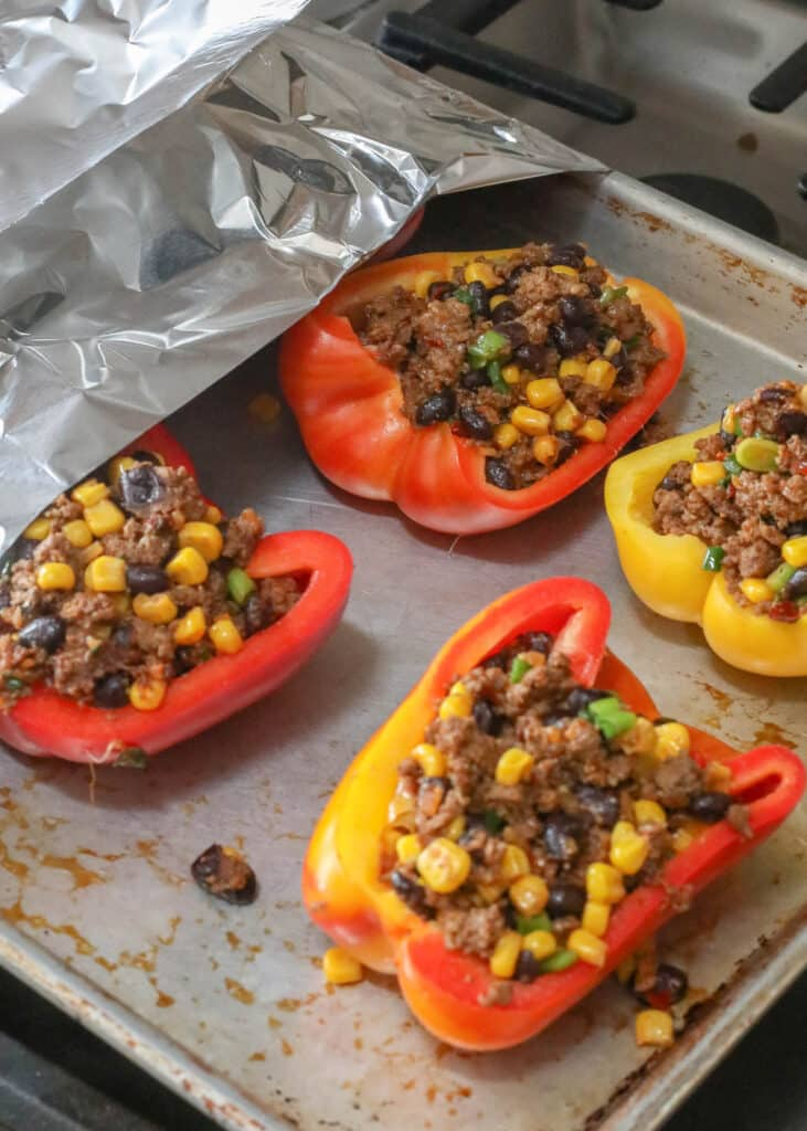 Mexican Stuffed Bell Peppers