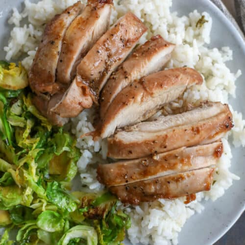 Easy Oven Baked Chicken Thighs