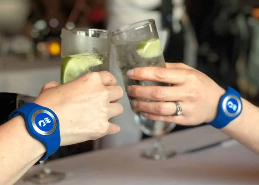 Ocean Medallion is a wearable device that gives you access to fun all over the cruise ship. You can even order drinks that will be delivered to your chair poolside.