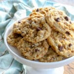 Toffee Coconut Pecan Chocolate Chip Cookies - save the recipe now so that you can make it all year long!