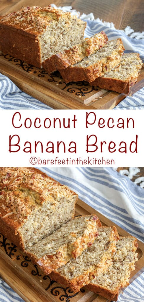 Coconut Pecan Banana Bread is already a huge favorite!