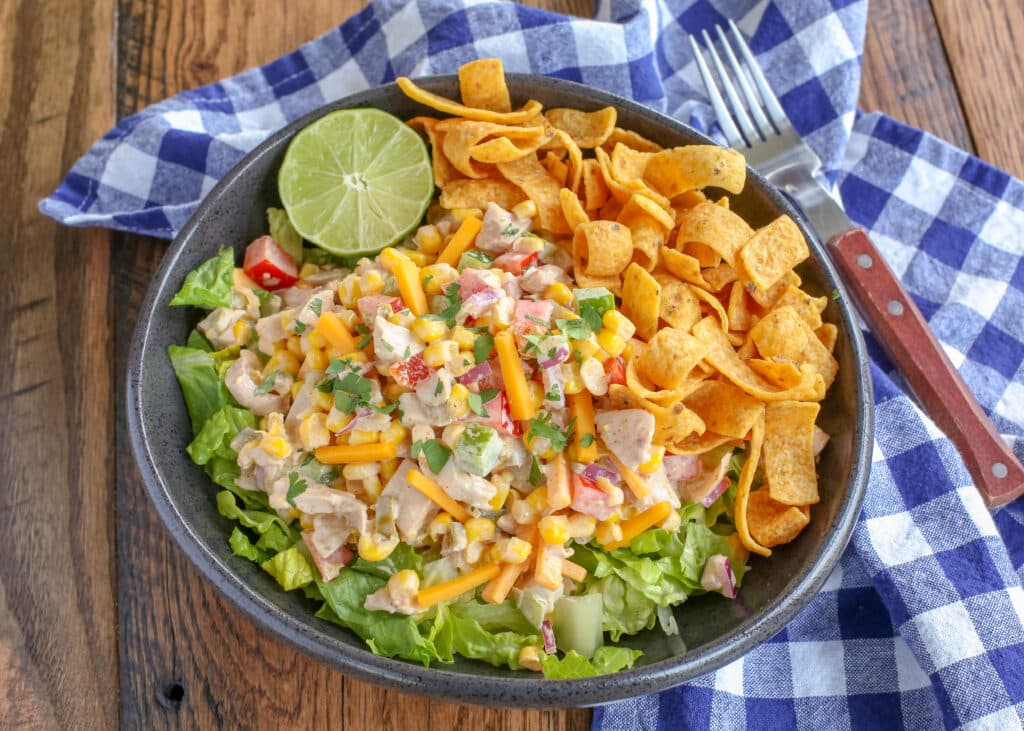 Frito Corn Salad with Chicken