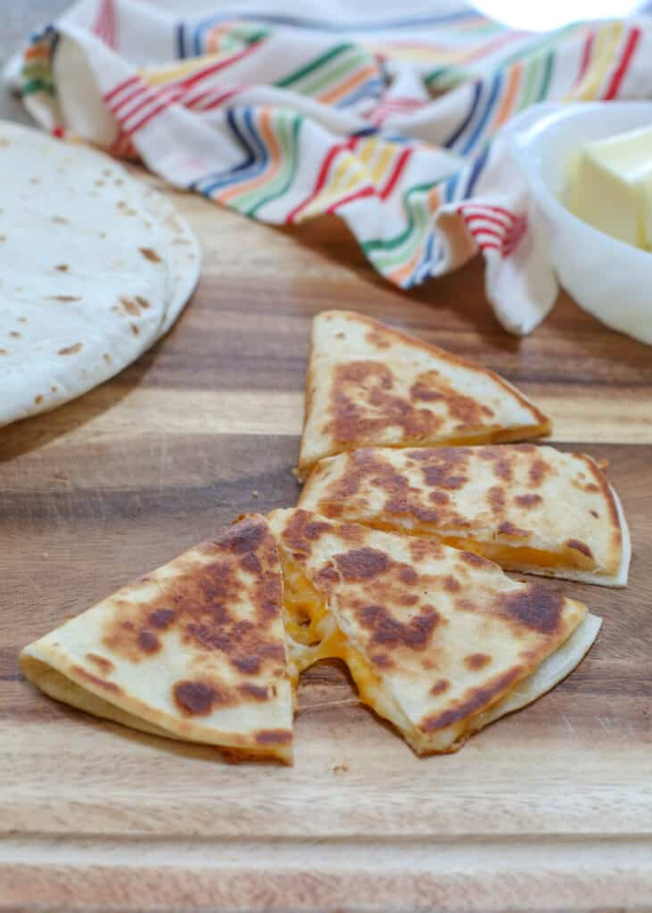 The secret to making perfect quesadillas is not so secret at all!