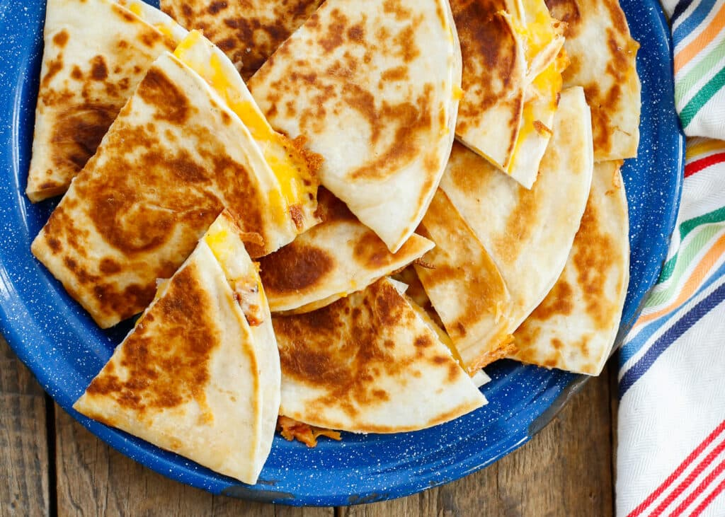 Make the PERFECT Quesadilla at home - find out how at barefeetinthekitchen.com