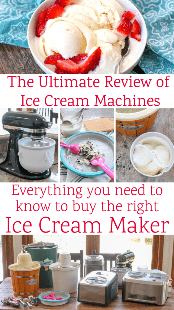 The Ultimate Review of Ice Cream Machines - EVERYTHING you need to know to buy the right ice cream maker!