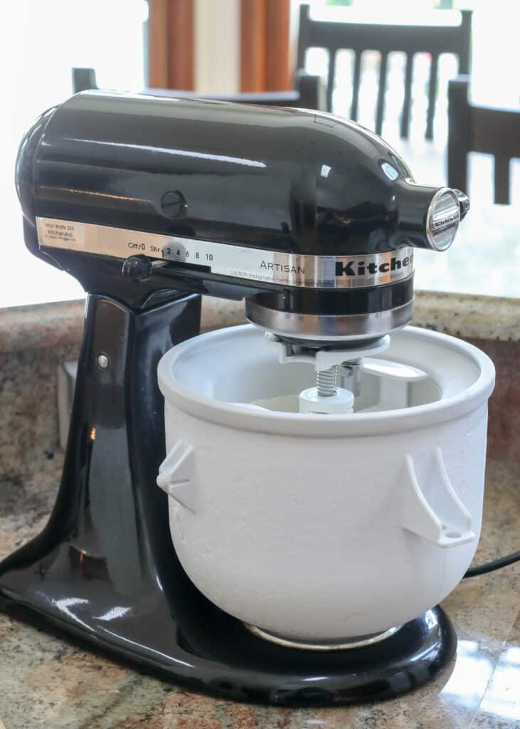 Ice Cream Maker Review - KitchenAid freezer bowl