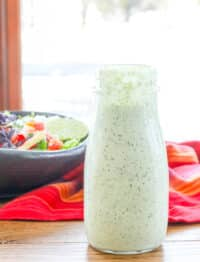 Creamy Tomatillo Dressing - just like Cafe Rio