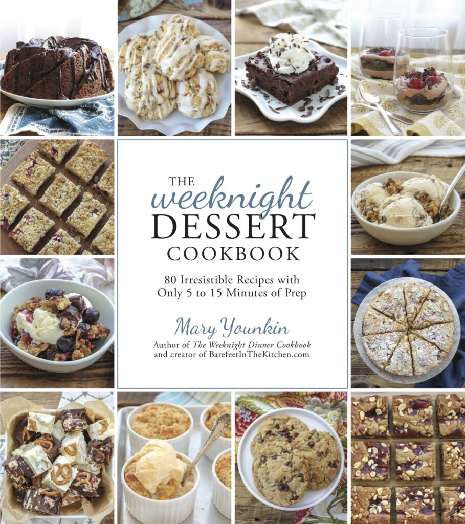 The Weeknight Desserts Cookbook - releases Oct 1, 2019