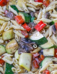 Creamy Penne with Vegetables