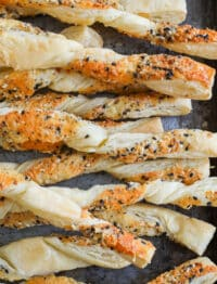Everything Bagel Cheese Straws