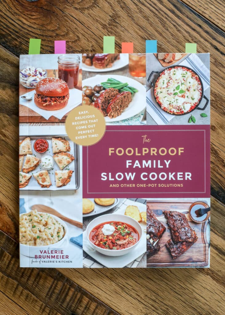 The Foolproof Slow Cooker Cookbook - and more easy ONE PAN meals!