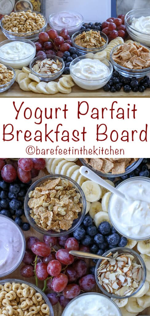 Yogurt Parfaits are a favorite breakfast with kids and adults!