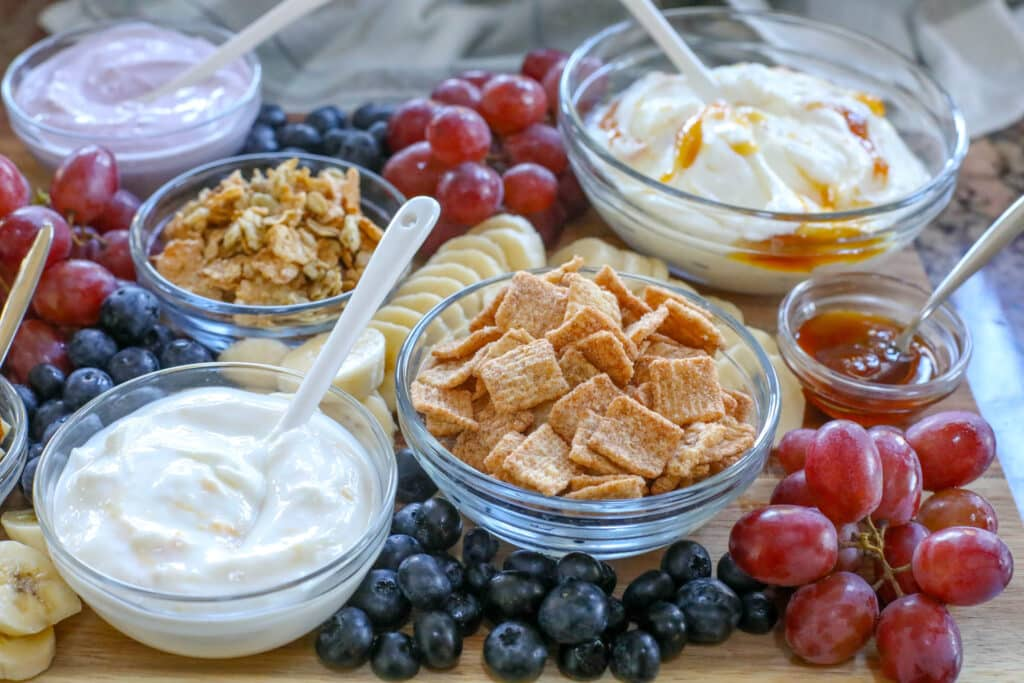 Yogurt Parfaits are a hit every time we make them! get all the directions at barefeetinthekitchen.com