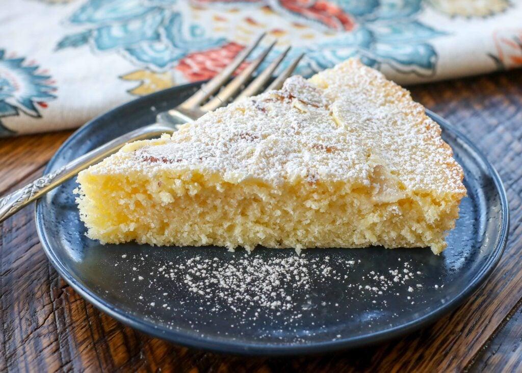 Tender Almond Cake