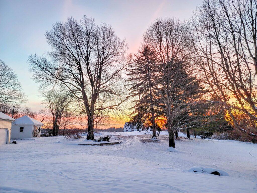 Ohio 240 - sunrise